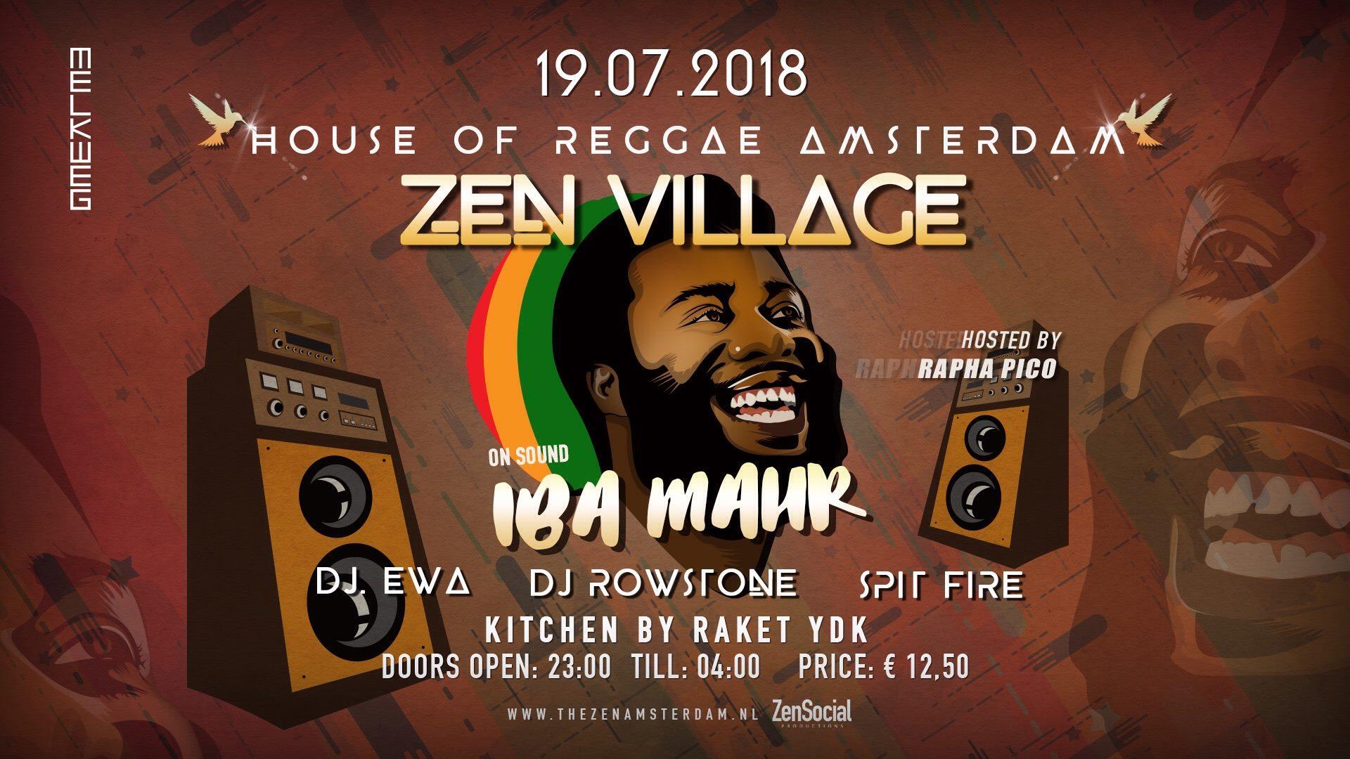 Zen Village: Iba Mahr (Jamaica) – Melkweg Amsterdam