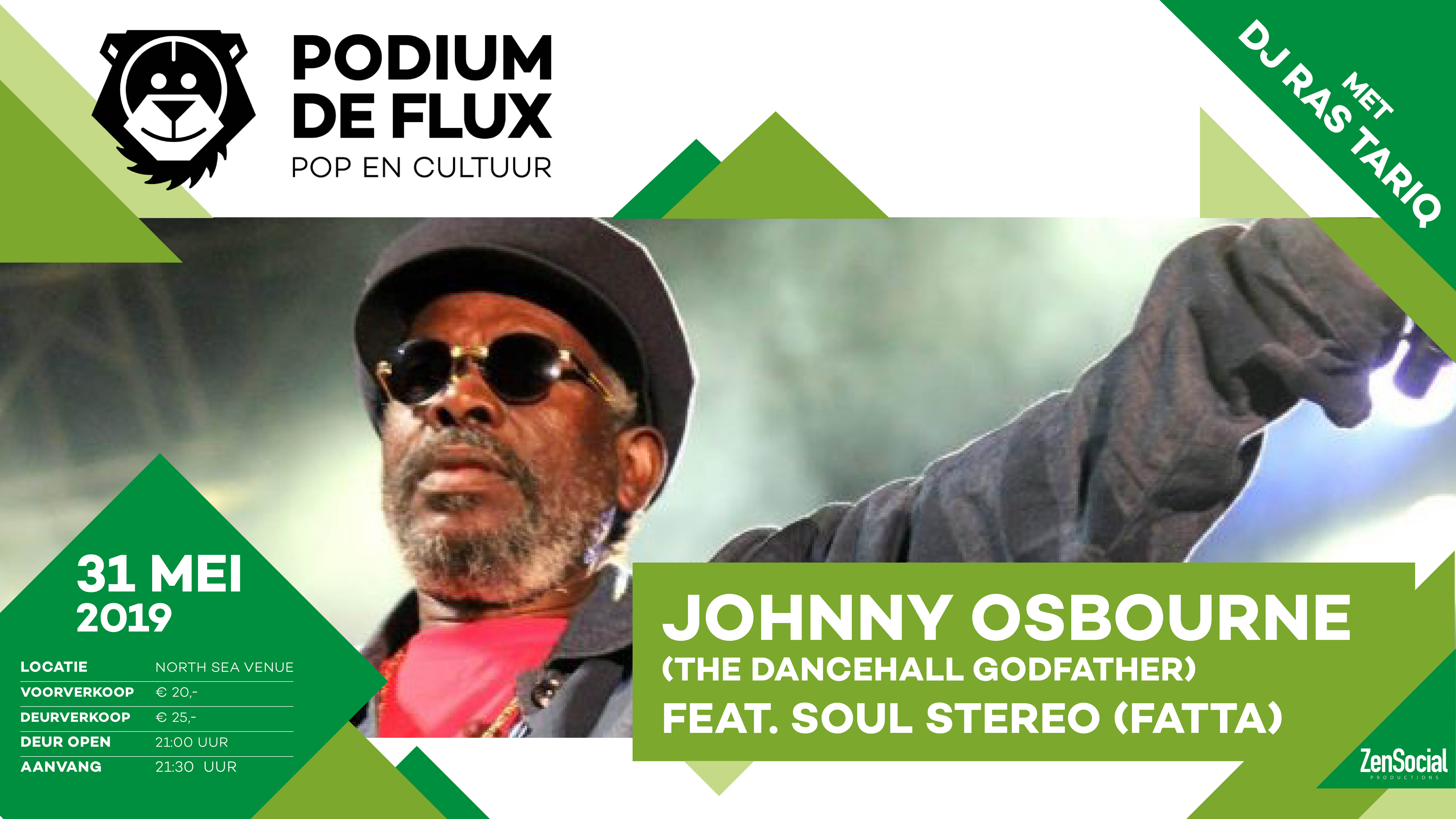 Johnny Osbourne & Soul Stereo|Podium de Flux